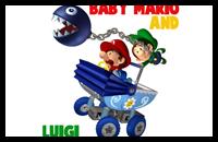 how to draw baby mario and baby luigi wwwpixsharkcom