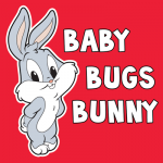 How to Draw Baby Bugs Bunny from TinyToons Adventures