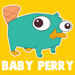How to Draw Baby Perry the Platypus