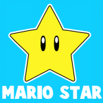 How to Draw the Star from Nintendo's Super Mario Bros.