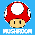 Drawing the One Up Mushroom