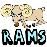 How to Draw Cartoon Rams with Easy Step by Step Drawing Lesson
