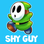Instructions for Drawing Shy Guy from Nintendo's Super Mario