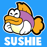 How to Draw Sushie Fish from Nintendo's Super Paper Mario Drawing Tutorial