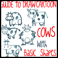 Massive Guide to Drawing Cartoon Cows with Simple Shapes