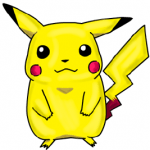 Step by Step Drawing Lesson : How to Draw Pikachu Pokemon Characters