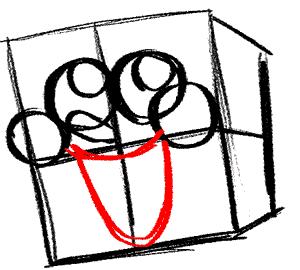 spongebob 5 draw the outline of spongebob s mouth how to draw