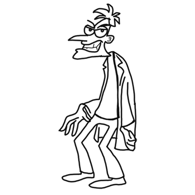 Phineas And Ferb Characters Archives How To Draw Step By Step Drawing Tutorials