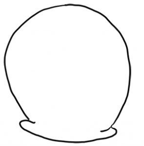 how to draw gary from spongebob