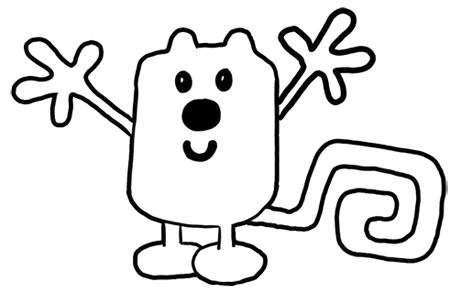 wow wow coloring pages - photo#24