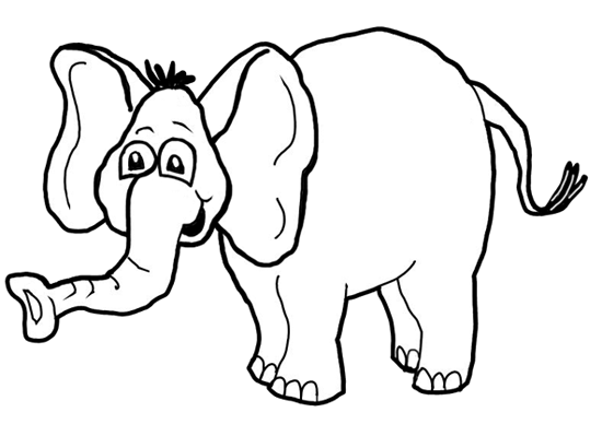 How To Draw Cartoon Elephants African Animals Step By Drawing Tutorial For Kids