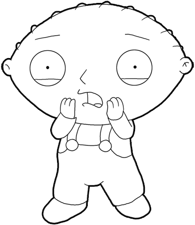 Gallery For gt How To Draw Family Guy Characters Easy