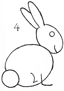 Step 4 How To Draw Bunnies With Easy Bunny Rabbits Drawing Lesson