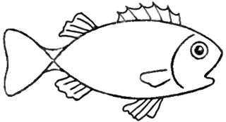 Step 5 How To Draw Cartoon Fish Step By Step Drawing Lesson How To
