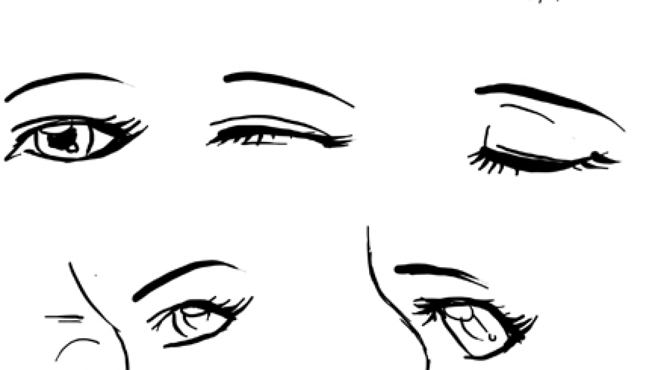 Draw Anime Eyes Females How To Draw Manga Girl Eyes Drawing