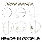 Drawing Anime / Manga Heads / Faces in Profile View (Side View)