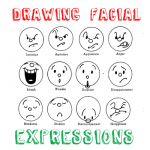 How to Draw Cartoon Emotions & Facial Expressions Drawing Lessons