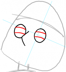 Step 4 How To Draw Meg Griffin From The Family Guy Drawing Tutorial How To Draw Step By Step Drawing Tutorials
