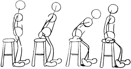 How To Animate A Character Standing Up Or Sitting Down