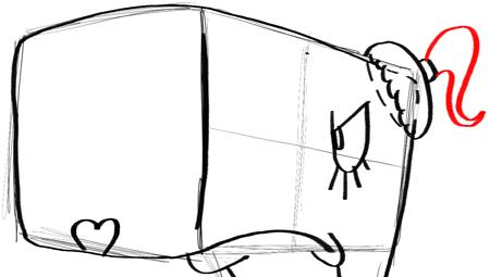 Step 12 Drawing Pearl Krabs From Spongebob Squarepants
