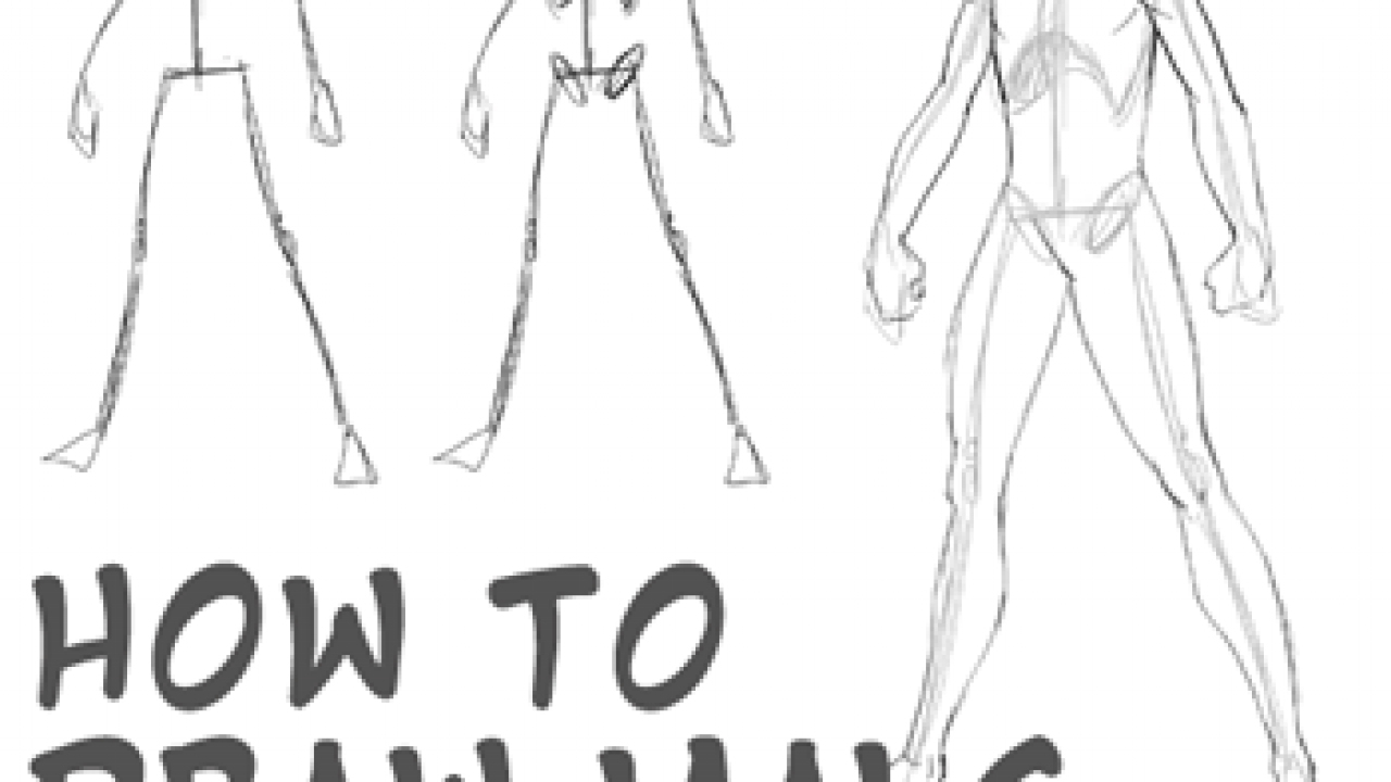 How To Draw Anime Body With Tutorial For Drawing Male Manga Bodies How To Draw Step By Step Drawing Tutorials
