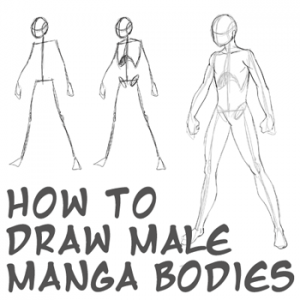 How To Draw Anime Body With Step By Step Tutorial For