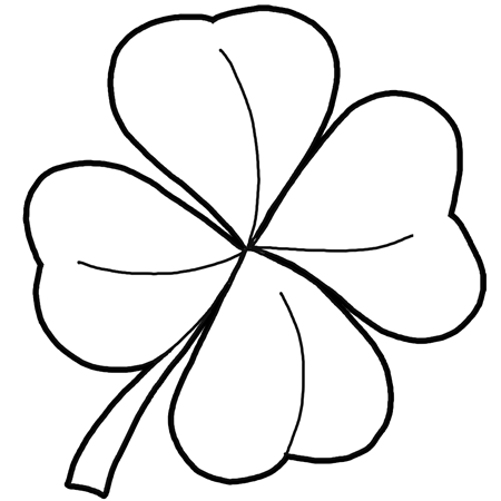 How To Draw 4 Leaf Clovers amp Shamrocks For St Patricks Day