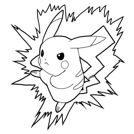 Como Dibujar A Pikachu Taringa