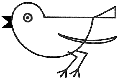 Drawing a Bird / Robin with Simple Shapes for Preschoolers ...