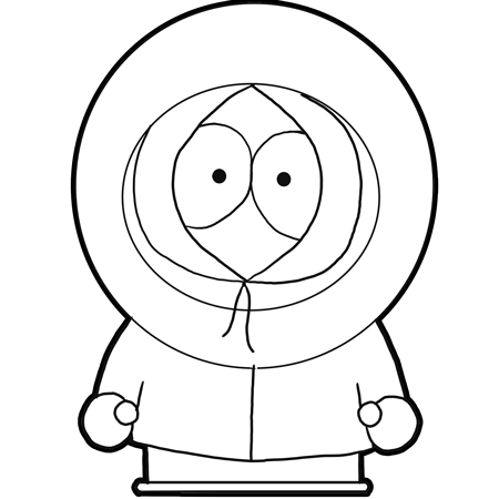 Gallery For gt South Park Kenny Drawing