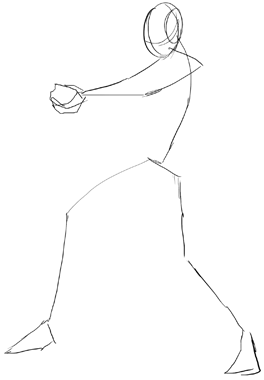 Step 2 Anime Action Scenes Manga Poses Drawing Tutorial How To