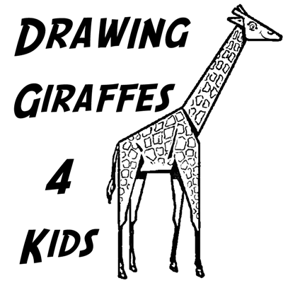 how to draw giraffes with easy steps for kids and preschoolers - Drawing For Preschoolers