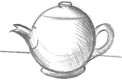 How to Draw Tea Pots with Easy Step by Step Drawing ... Teapot Drawing Tumblr