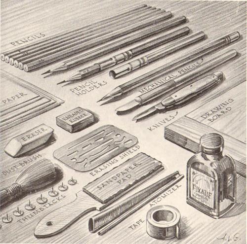 Pencil Drawing Art Supplies Amp Equipment That Pencil