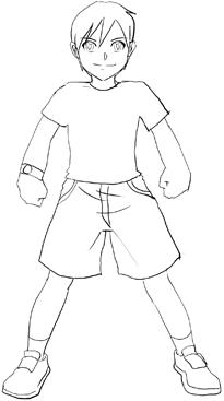 Easy Boy Drawings Full Body Www Picturesso Com