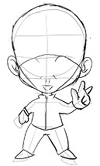 step 2 drawing chibis boys anime tutorial how to draw step by
