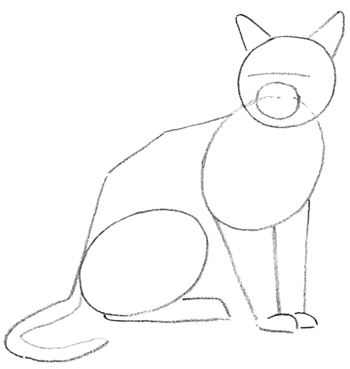 Step 2 Drawing Cats Lessons