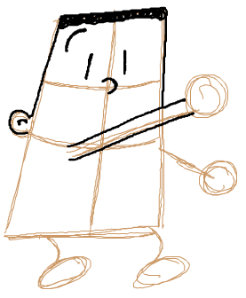 Step 3 : Drawing George Beard from Captain Underpants with easy Steps