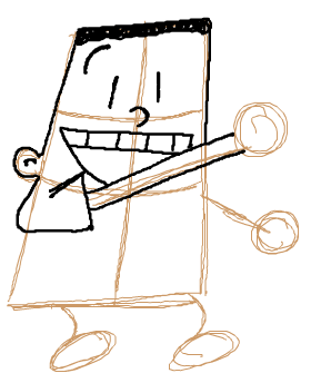 Step 4 : Drawing George Beard from Captain Underpants with easy Steps