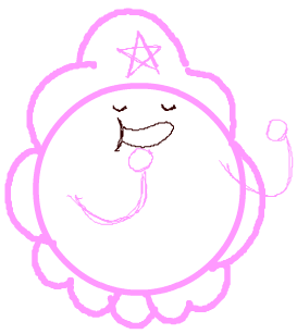Step 8 Drawing Lumpy Space Princess with Easy Steps