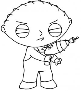 Step 8 - Drawing Stewie Lessons Tutorial