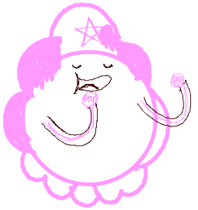 Step 10 Drawing Lumpy Space Princess with Easy Steps
