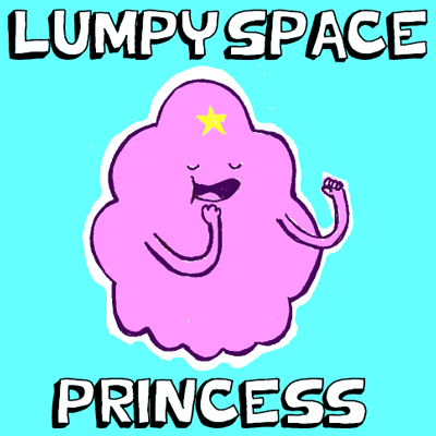 How to Draw Lumpy Space Princess from Adventure Time with Drawing Tutorial for Kids
