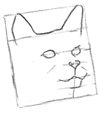 Step 2 How To Draw Cats And Kittens Faces Adn Heads Lesson How To
