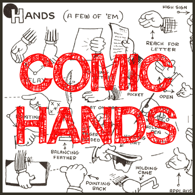 Guide to Drawing Cartoon & Comic Hands : Reference Guide