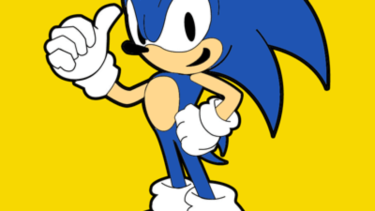 How To Draw Sonic The Hedgehog In Easy Drawing Tutorial How To