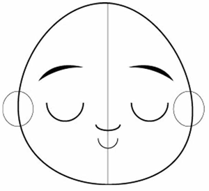 how to draw cartoon eyes step by step easy