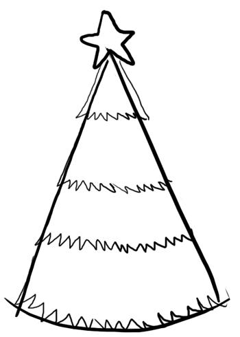 Step 2 : Drawing Christmas Trees