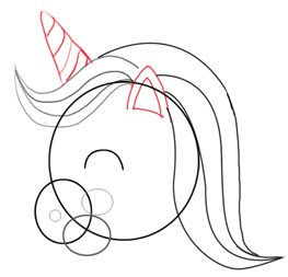 Step 2 : Drawing Unicorns in Easy Steps Tutorials