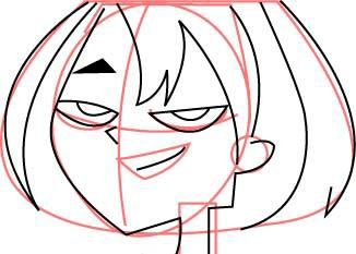 Step 3 How to Draw Gwen From Total Drama Island & Action Drawing Tutorial
